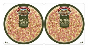 PIZZA PACK 2 JAMON Y QUESO CASA TARRADELLAS